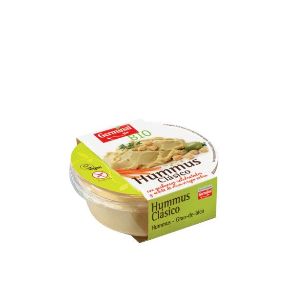 Hummus clásico sin gluten y bio