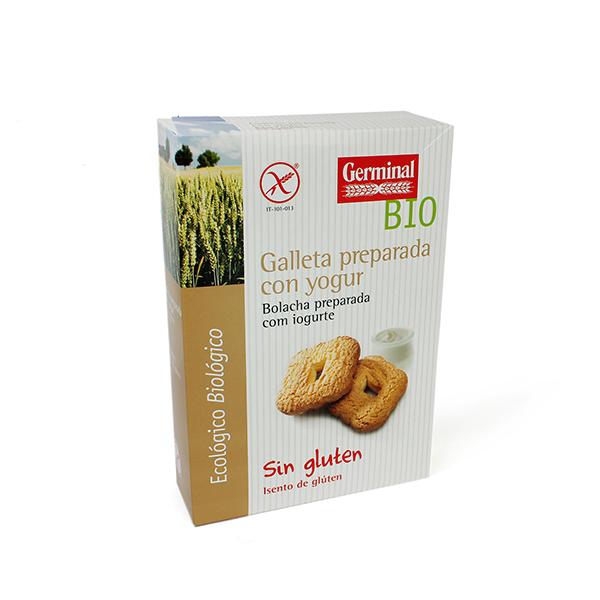 Galletas con yogur sin gluten   Germinal BIO