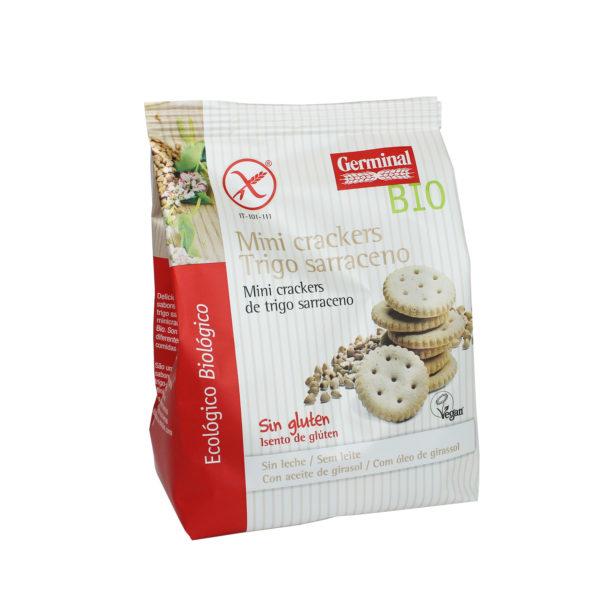 Mini crackers de trigo sarraceno sin gluten