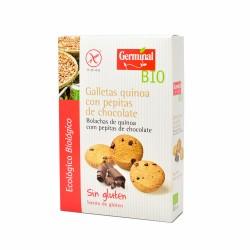 Galletas sin gluten de quinoa con pepitas de chocolate