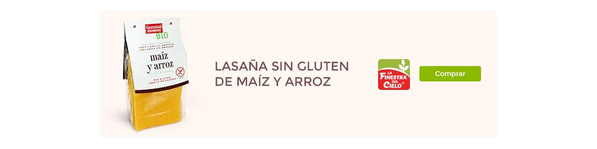 Lasaña sin gluten | Germinal BIO