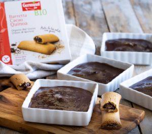 Crema catalana con doble cacao 🍫 | Germinal Bio
