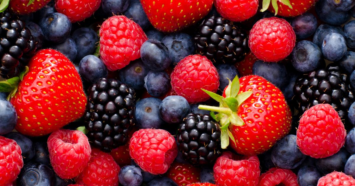 alimentos de verano frutos rojos